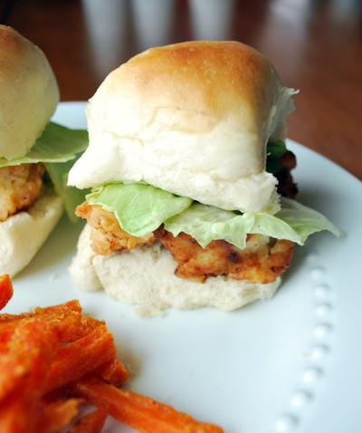 Copycat Chick-Fil-A Nuggets in a Slider