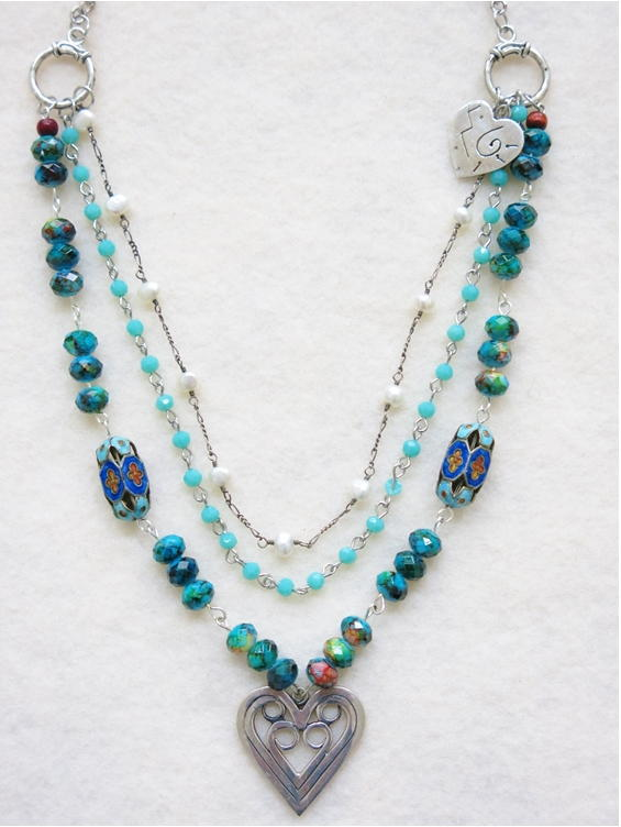 Sundance-Inspired Boho Layered Necklace