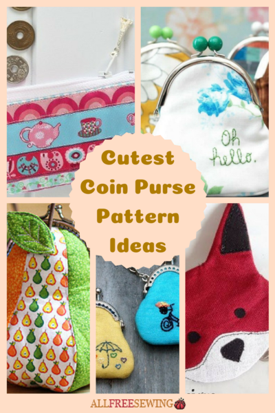 6b8ffa5bd1 17 Cutest Coin Purse Pattern Ideas