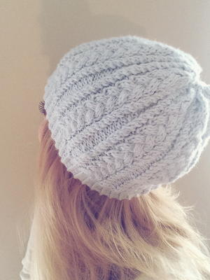 Katherine's Cable Knit Hat
