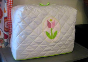 Tiptoe Through the Tulips Sewing Machine Cover