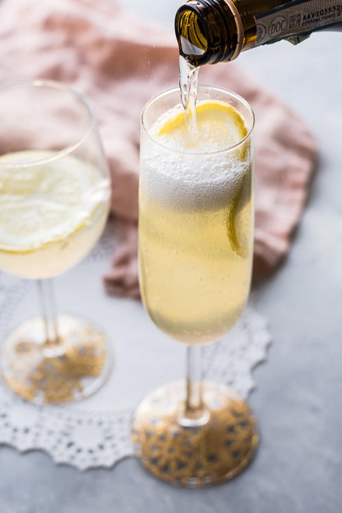 Royal Wedding Lemon Elderflower Cocktail