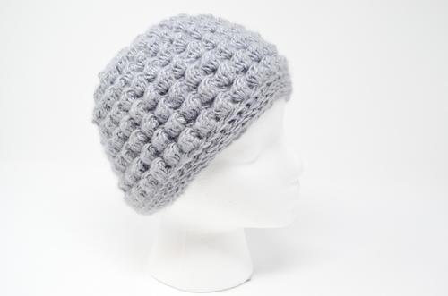 18469b07aab Bobble Messy Bun Hat Crochet Pattern
