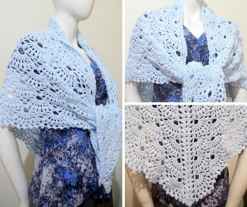 Wings Of Prayer Shawl