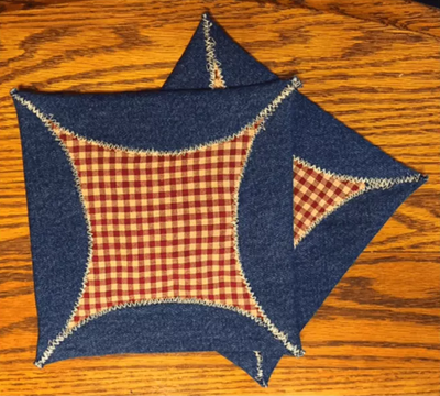 Country Gingham Free Potholder Pattern