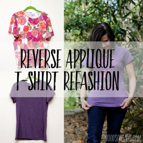 Reverse Applique Tshirt