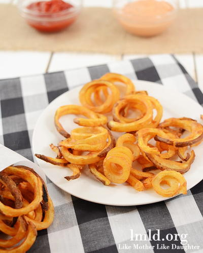 Oven Fried Copycat Arbys Curly Fries