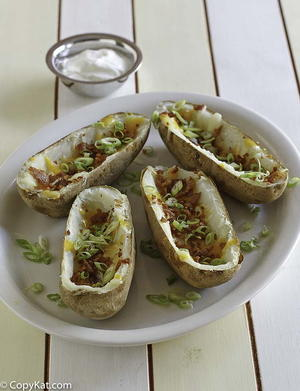 TGI Friday's Baked Potato Skins Copycat