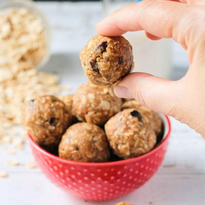 Peanut Butter No Bake Protein Balls with Superfoods