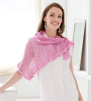 Summer Day Crochet Stole Pattern