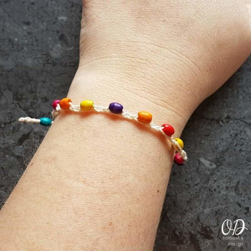 Super Simple Beaded Boho Bracelet