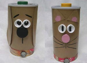 Recycled Treat Containers