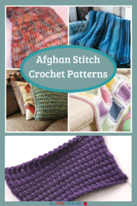 10+ Afghan Stitch Crochet Patterns