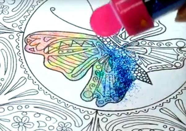 Unicorn Coloring Technique