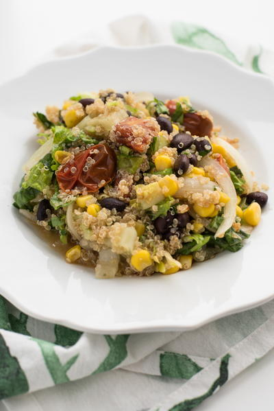 Terrific Toasted Quinoa Salad