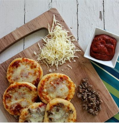 Copycat Pizza Hut Homemade Pizza Sliders