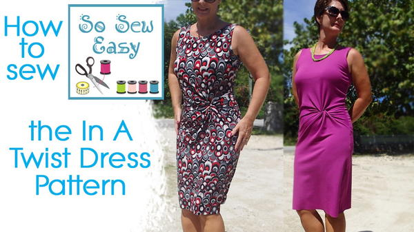 How to Sew the In a Twist Dress