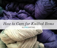 How to Care for Knitted Items