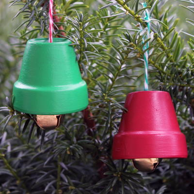 DIY Terra Cotta Bells