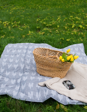 Waterproof Quilted Picnic Blanket