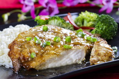 Asian Honey Garlic Chicken