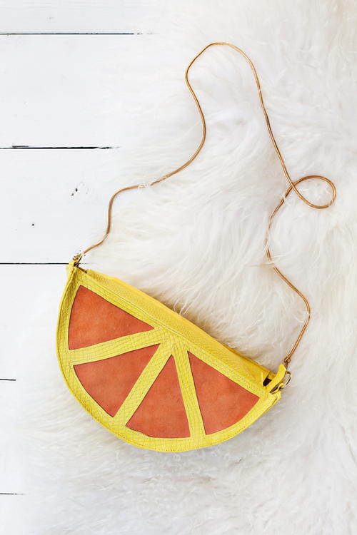 Citrus Slice Purse Sewing Pattern
