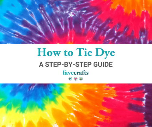 How to Tie Dye Instructions