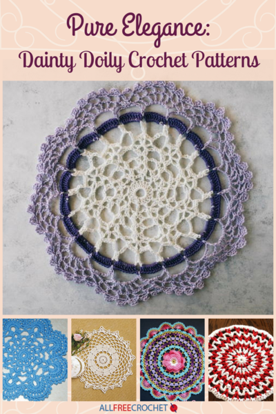 Pure Elegance 25 Dainty Doily Crochet Patterns
