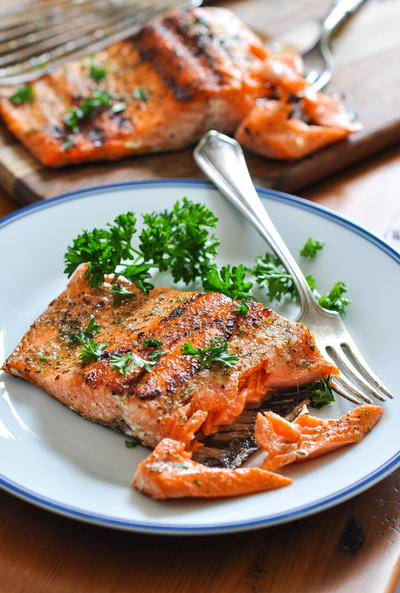 The Perfect 15-Minute Grilled Salmon
