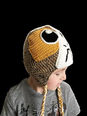 Amigurumi Porg from Star Wars: The Last Jedi Free Crochet Pattern | 400x300