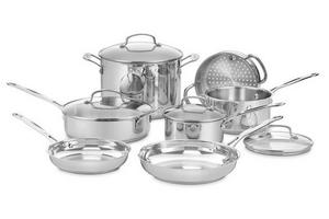 Cuisinart 11-Piece Chef's Classic Stainless Cookware Set Giveaway