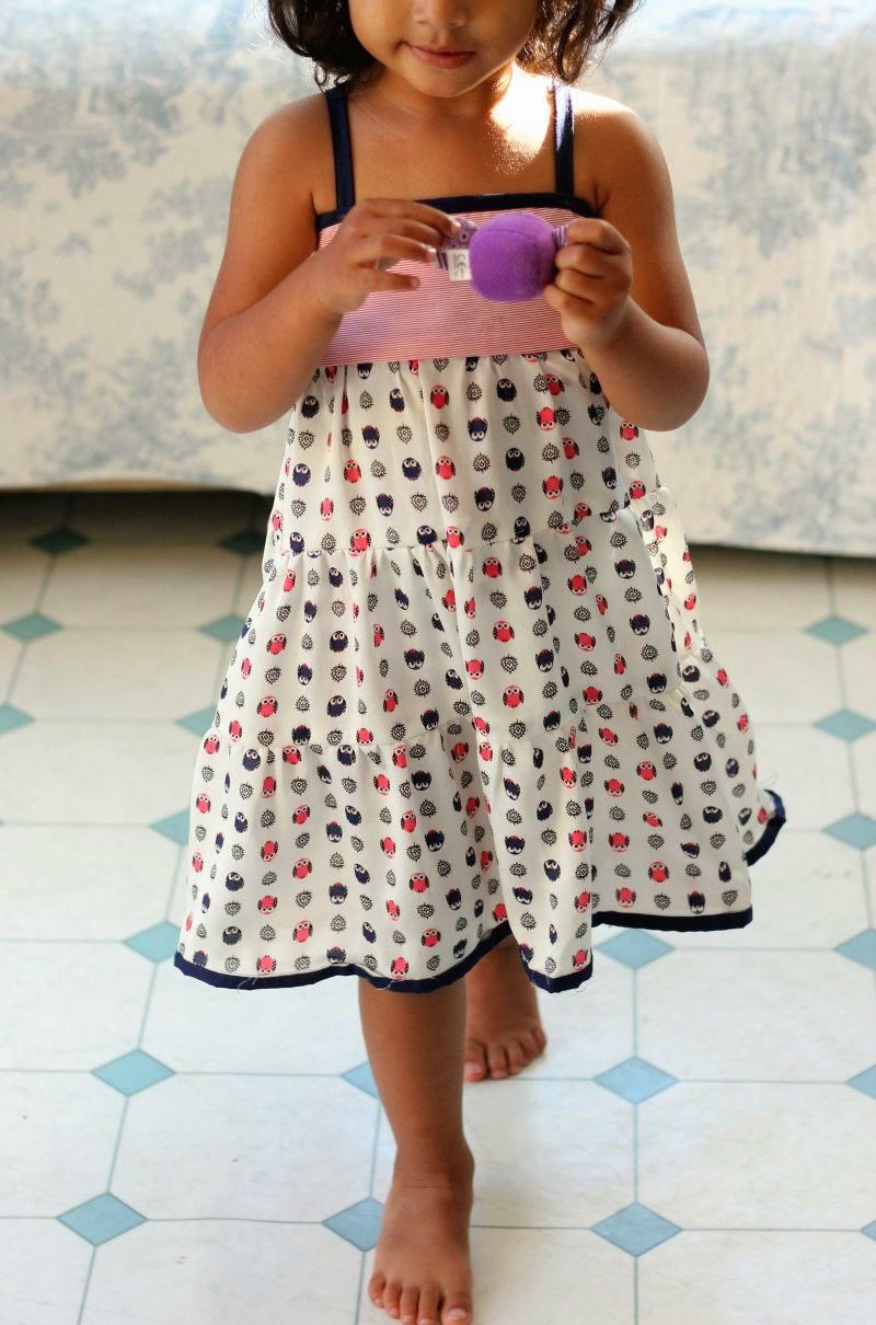 Tiered Girl S Dress Pattern Allfreesewing Com