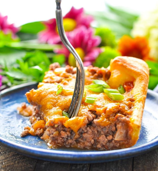 4-Ingredient Ground Beef Casserole