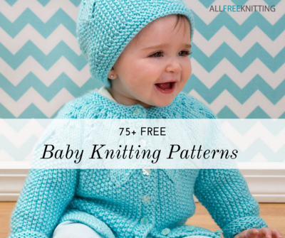 efa576702 75+ Free Baby Knitting Patterns