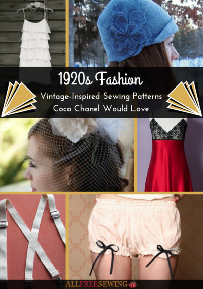 1920s Patterns Coco Chanel Would Love