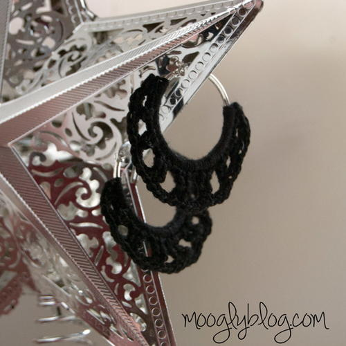 30 Minute Classic Crochet Earrings