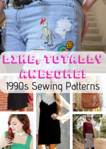 Like, Totally Awesome: 26 1990s Sewing Patterns