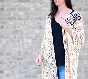 Casablanca Summer Poncho Crochet Pattern