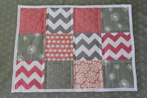Scrappy Patchwork Placemats