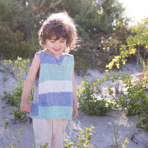 Kids Tank Knitting Pattern