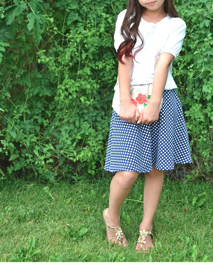 Easy Half Circle Skirt for Girls