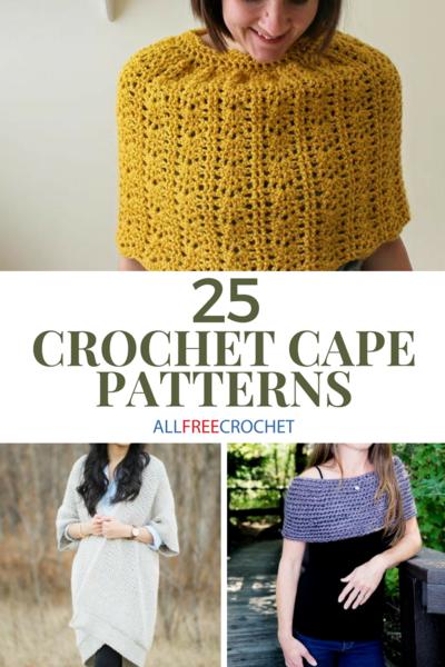 996012d18975c 25 Crochet Cape Patterns (Free!)
