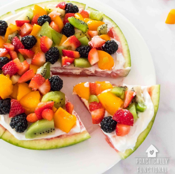 Easy Watermelon Pizza Recipe