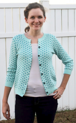 Simple Upcycled Cardigan Tutorial