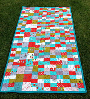 Easy Summer Picnic Quilt