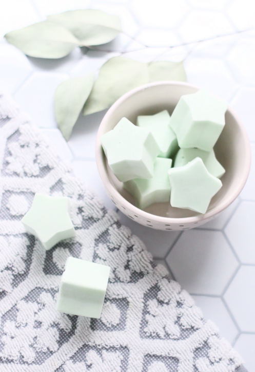 Eucalyptus and Mint Soothing DIY Bath Melts