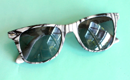 DIY Marble Sunglasses