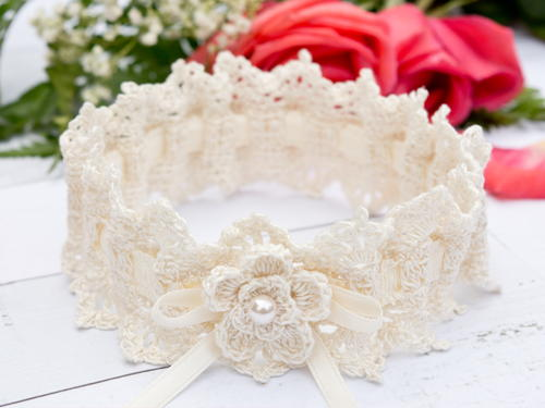 Wrapped in Lace Bridal Wedding Garter