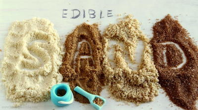 Edible Sand For Food Crafting