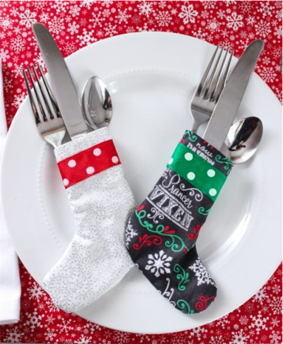 Christmas Utensil Holder Pattern